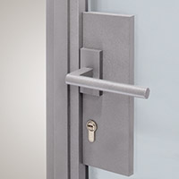 Truncated Door Handle