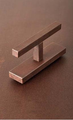 Square Vitruvio-Corten Steel